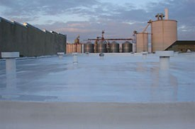 EDPM commercial roofing system