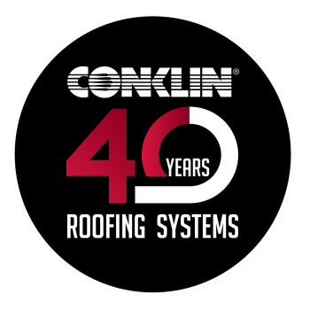 40 year conklin logo by about info.
