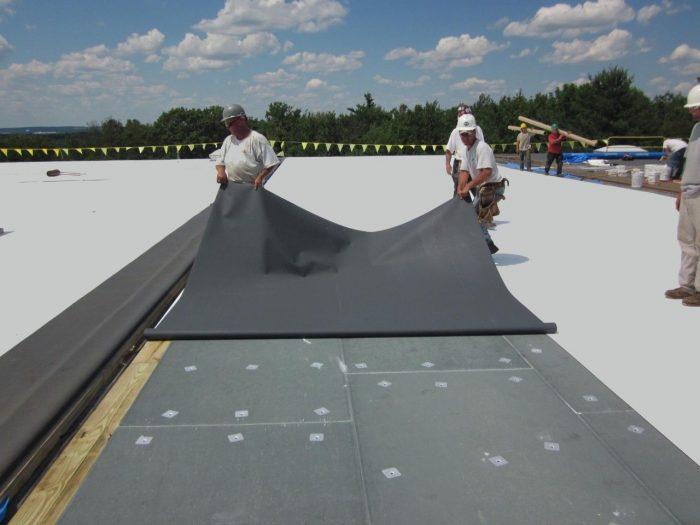 Roof membrane.